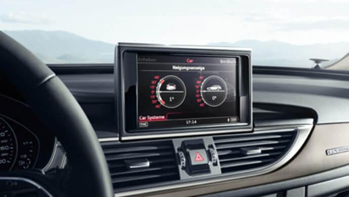 Audi A6 Quattro Neigungswinkelanzeige