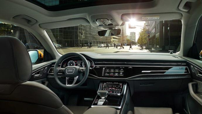 Audi q8 innenausstattung