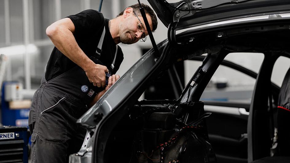 Karosserie Reparatur