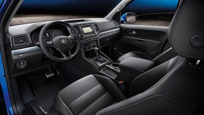 VW Amarok Innenausstattung