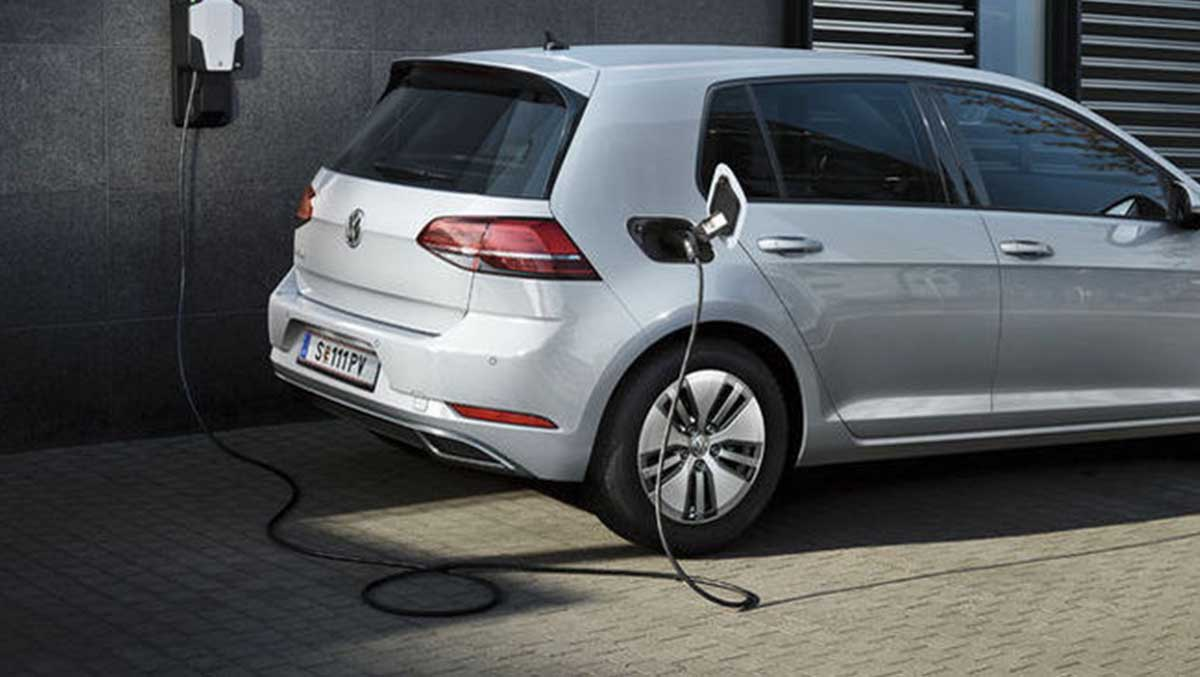 E Golf Ladestation